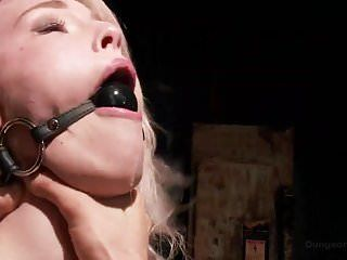 Ella nova likes getting bound up and drilled hard