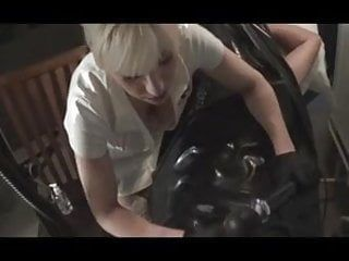 Bald wang milked and spunked by pvc nurse madame c