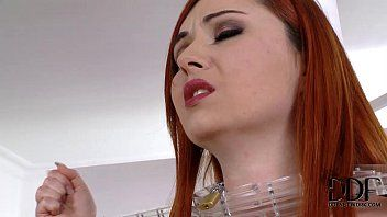 Bitch goddess gives bondman hotty a flogging a shiny a-hole plug