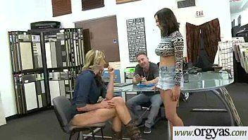 Shae summersbrianna oshea bellezza viziosa acquisisce allettato con soldi per gangbang su livecam video-29