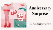 Anniversary surprise audio porn for women, erotic audio, hot asmr
